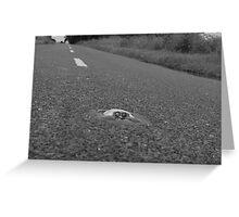Long Road Ahead  Greeting Card