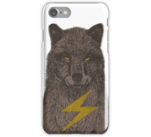 Warning: Electric Wolf iPhone Case/Skin