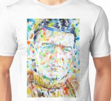 SHACKLETON - watercolor portrait Unisex T-Shirt
