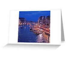 Canale Grande, Venice Italy Greeting Card