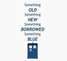 Dr Who Tardis, something old, something new Womens Fitted T-Shirt