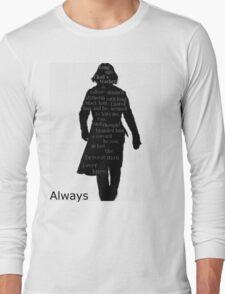 Severus Snape Always. Long Sleeve T-Shirt