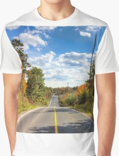 Autumn Road to Nowhere Graphic T-Shirt