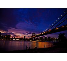 The Night just coming - NYC Photographic Print