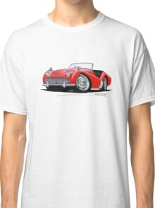 Triumph TR3A Red Classic T-Shirt