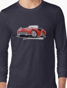 Triumph TR3A Red Long Sleeve T-Shirt