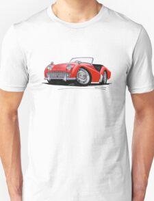 Triumph TR3A Red T-Shirt