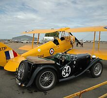 Two Classic Vehicles, Cunderdin Airshow, Australia 2005 by muz2142