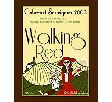 Walking Red: A Fine Wine Photographic Print