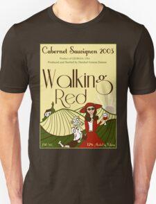Walking Red: A Fine Wine T-Shirt