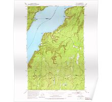 USGS Topo Map Washington State WA Holly 241552 1953 24000 Poster