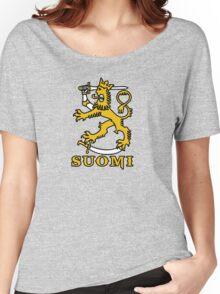 suomi finland lion Helsinki Women's Relaxed Fit T-Shirt