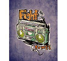 Fight the Power! Photographic Print