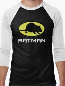 Ratman Men's Baseball ¾ T-Shirt
