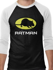 Ratman Men's Baseball ¾ T-Shirt