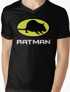 Ratman Mens V-Neck T-Shirt