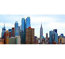 Cityscape Empire State Building Photographic Print