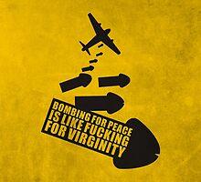 Bombing for peace... by AlejandroAyala