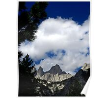 Sierras- Framed By Nature Poster