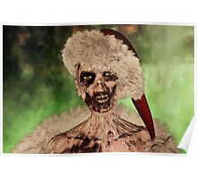 Zombie Christmas Poster