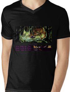Guybrush Rows to Shack Mens V-Neck T-Shirt