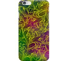 Colorful OrnateRetro Floral Swirls iPhone Case/Skin