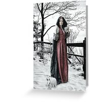Winter Queen Greeting Card