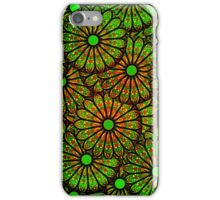 Abstract Floral Circles Pattern Collage iPhone Case/Skin
