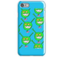 Martian iPhone case with even MORE Extry Martians! iPhone Case/Skin