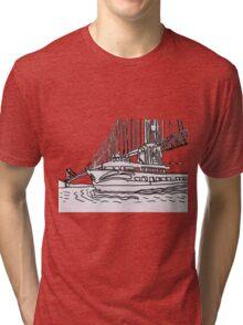 Red And White Fleet Tri-blend T-Shirt
