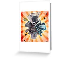 A Small World Greeting Card