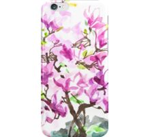 Large Magnolia Tree Blossoming iPhone Case/Skin