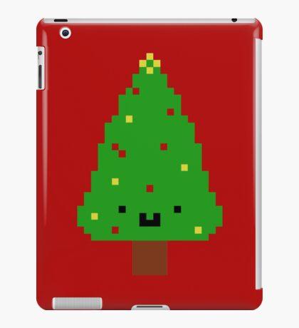 Cute Christmas Pixel Tree iPad Case/Skin