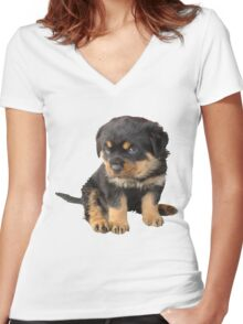 I Don't Need To Be Told I Am Cute Women's Fitted V-Neck T-Shirt
