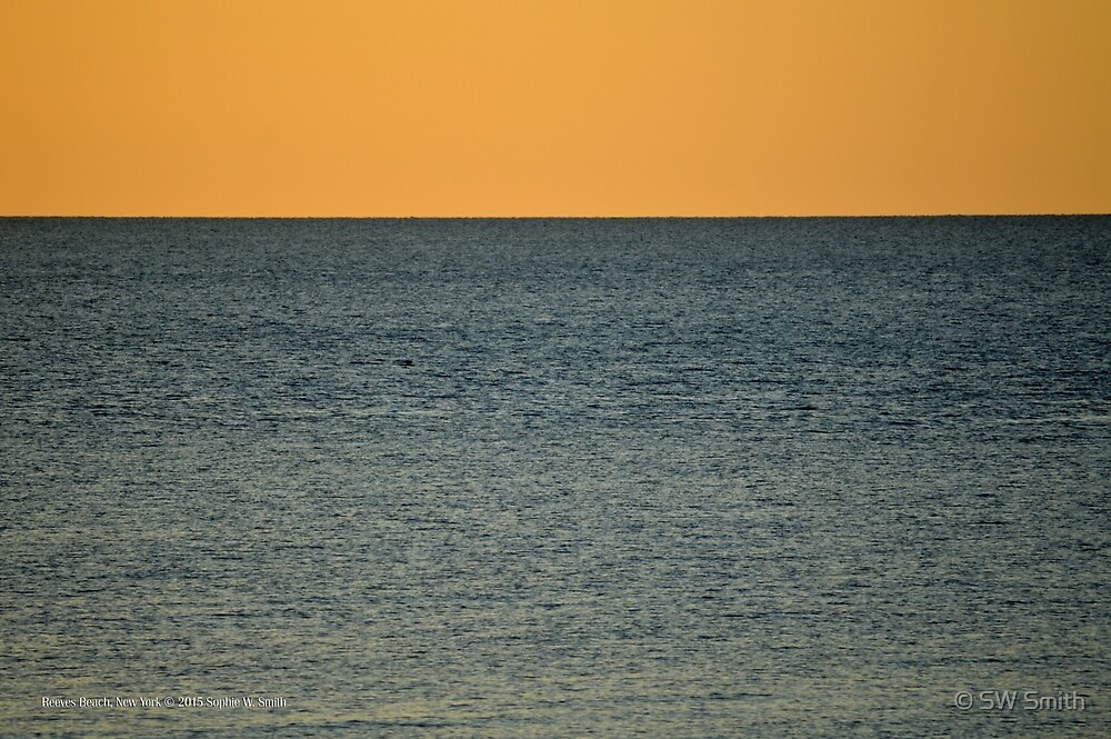 Long Island Sound Horizon | Reeves Beach, New York  by © Sophie W. Smith