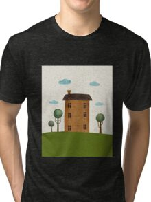 House in the сlouds Tri-blend T-Shirt