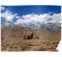 Mountains,Rocks And Rocks In The Middle Poster