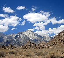 Inyo,Land Of The Gods,Where Desert and Mountain meet by marilyn diaz