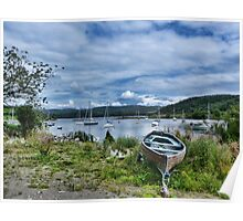 Tayvallich Harbour Poster