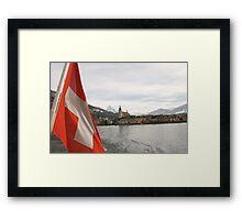 Lake Zug Framed Print