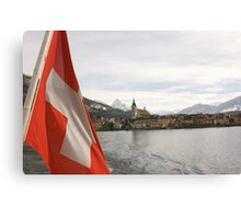 Lake Zug Canvas Print