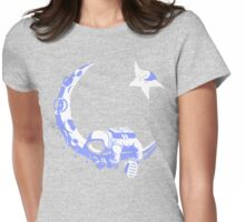 Moonstuck - Alternate Universe on Heather Grey Womens Fitted T-Shirt