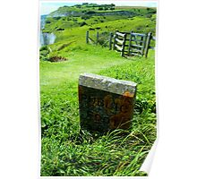 White Cliffs of Dover - Public Footpath  Poster