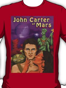 John Carter Of Mars Concept T-Shirt