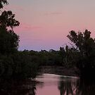 River Sunset by Mark Cooper