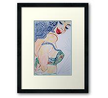 Undress Me Framed Print