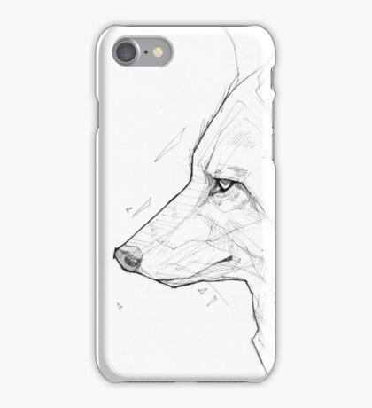 Coyote - Ink iPhone Case/Skin