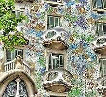 Gaudi Windows  by Ali Brown