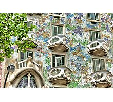 Gaudi Windows  Photographic Print