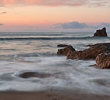 Corona Del Mar Sunrise by Eddie Yerkish